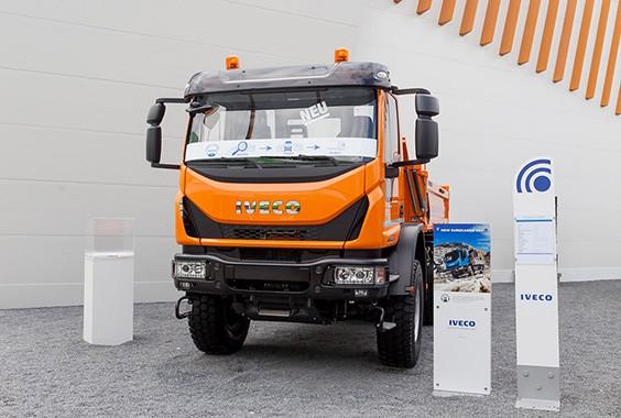 Полноприводный Eurocargo от Iveco