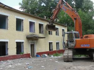 Демонтаж детского дома в Москве