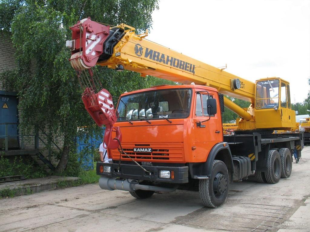 Заказать аренду автокрана Ивановец КС-45717К-1, 25т