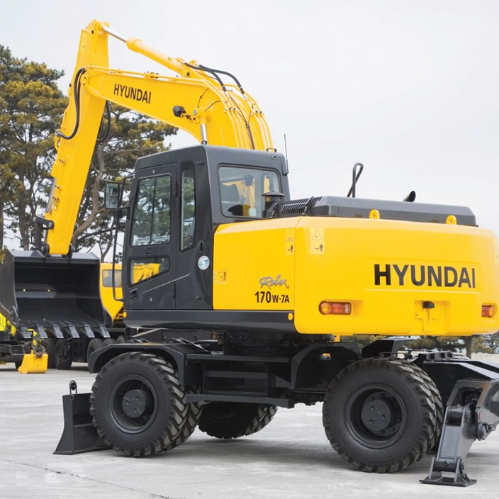 Заказать аренду экскаватора Hyundai R170W-7