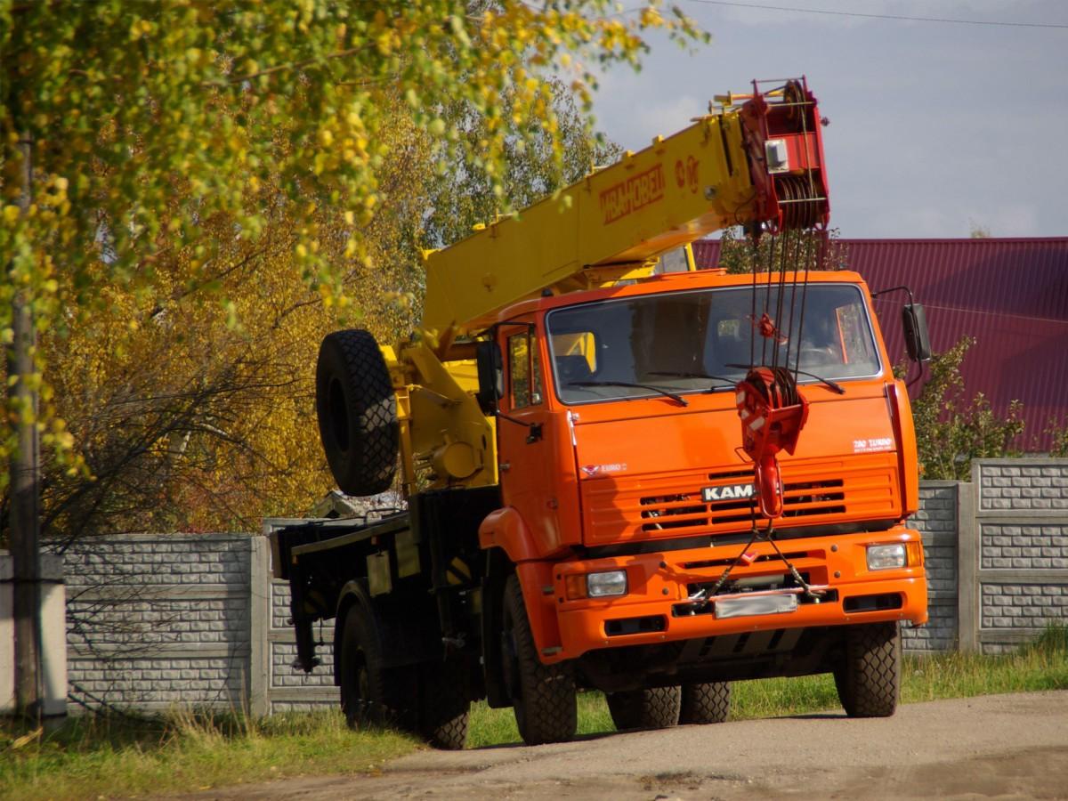 Заказать аренду автокрана Ивановец КС-35714К-3