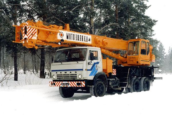Взять в аренду автокран Мотовилиха КС-5579.2