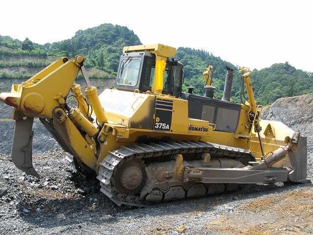 Заказать аренду бульдозера Komatsu D375A-5