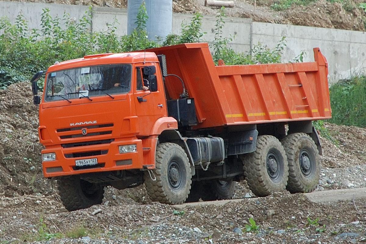 Аренда самосвала Камаз 65222 в Московской области