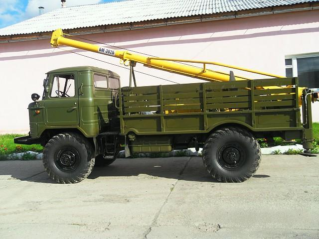 Дешевая аренда ямобура вездеход ГАЗ-66