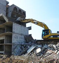 Демонтаж промышленных зданий недорого