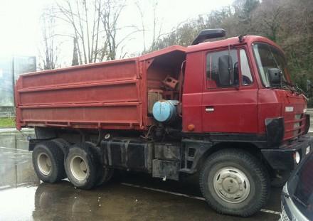 Взять в аренду самосвал Tatra T815