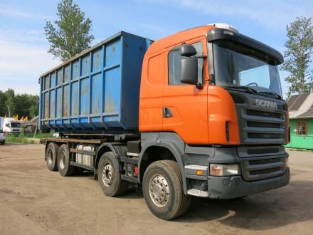 Аренда самосвала Scania P380 в Московской области