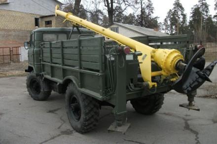 Ямобур вездеход ГАЗ-66 в аренду - недорого