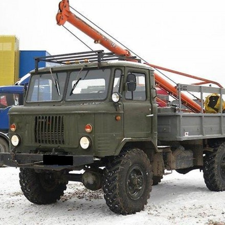 Аренда ямобура вездеход ГАЗ-66 в Москве