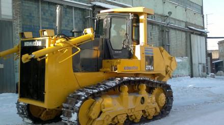 Аренда бульдозера Komatsu D275A-5 в Московской области
