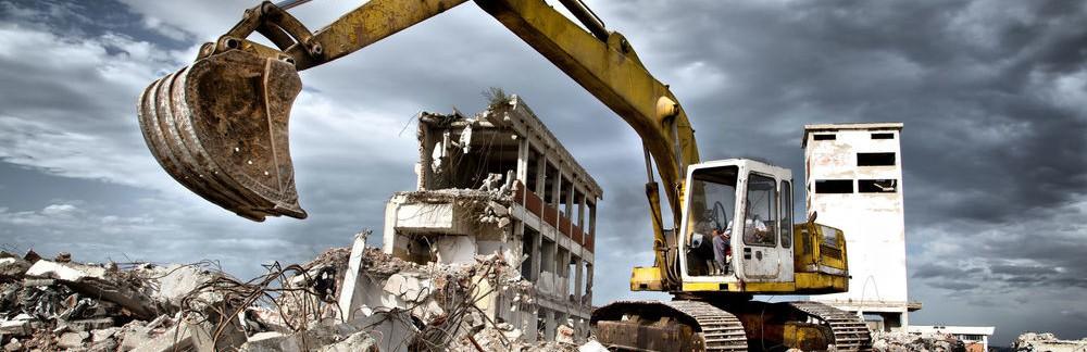 Правильный демонтаж здания
