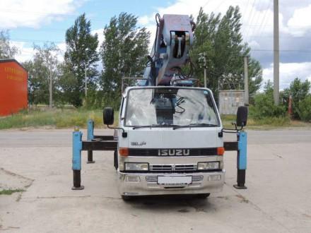 Автовышка ISUZU