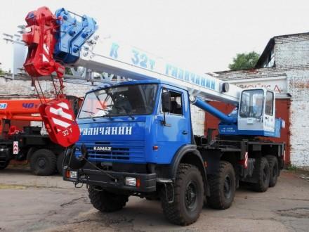 Автокран Галичанин КС-55729-5В вездеход, 32 т