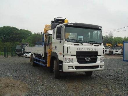 Дешевая аренда манипулятора Kanglim Hyundai-Trago