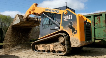 Заказать аренду мини-погрузчика Mustang 2100RT