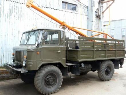 Взять в аренду ямобур вездеход ГАЗ-66