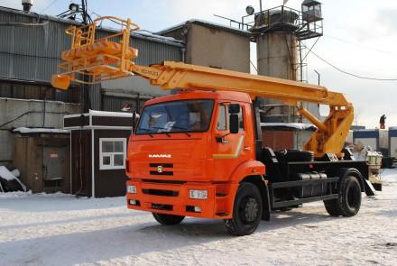 Аренда автовышки АПТ-22 ПСС-131.22 в Московской области