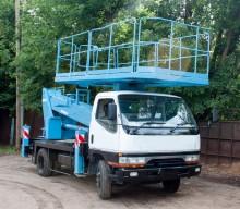 Автовышка 16 метров MITSHUBISHI